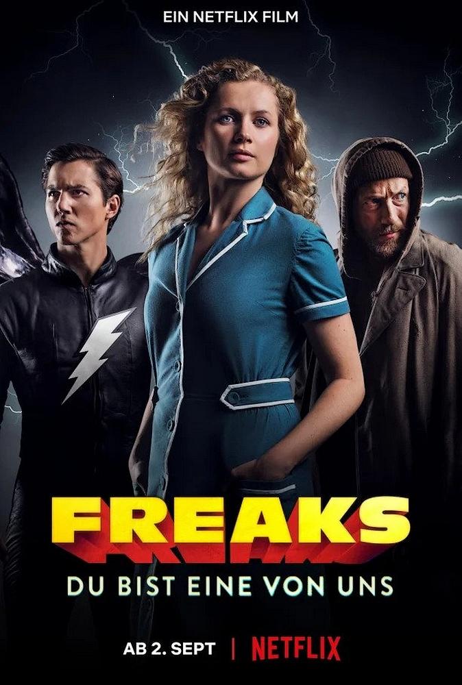 Freaks: You're One of Us kapak