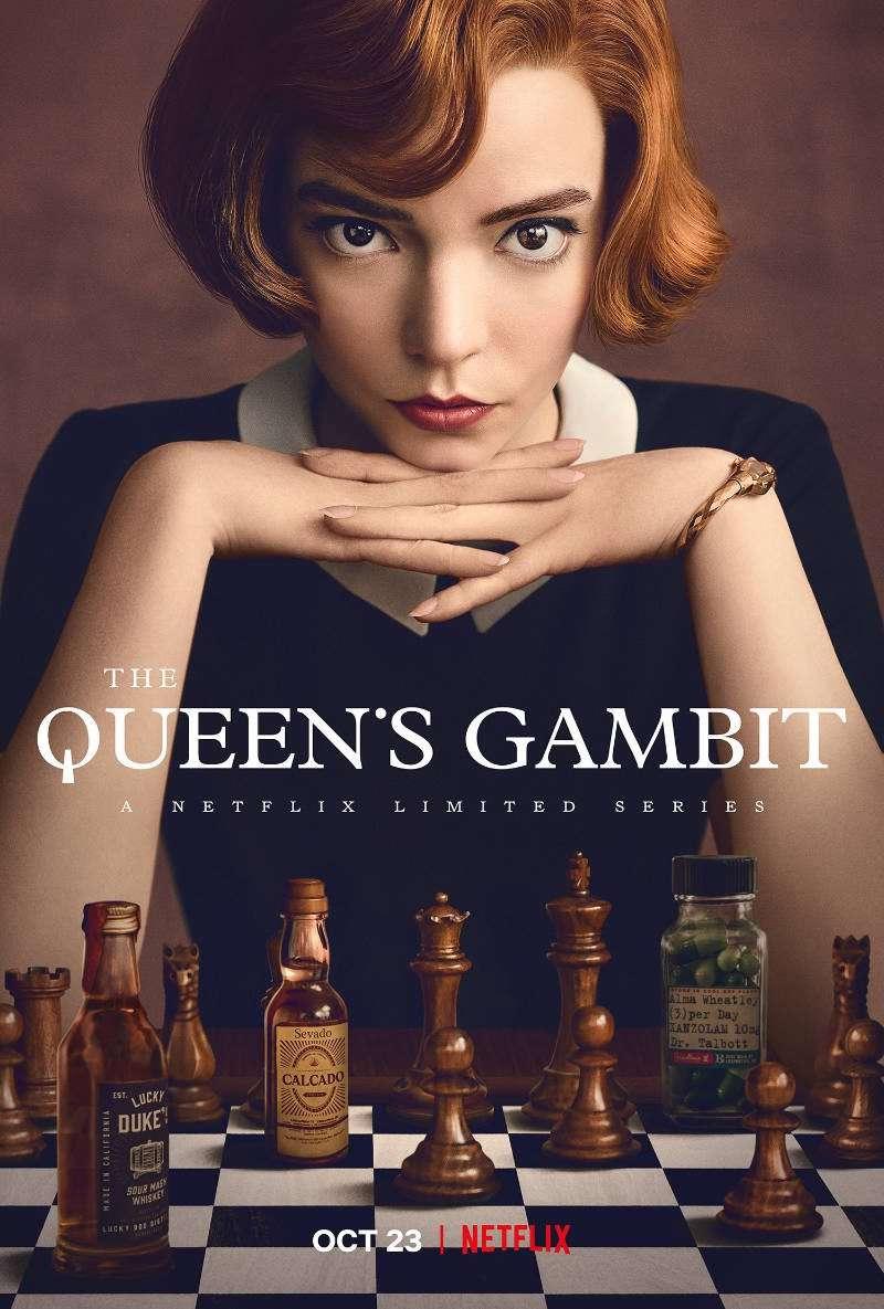 The Queen's Gambit kapak
