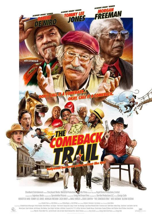 The Comeback Trail kapak