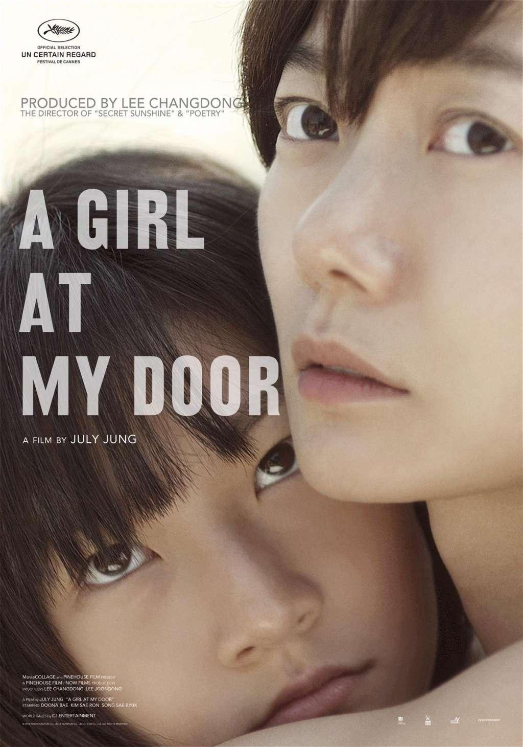 A Girl at My Door kapak