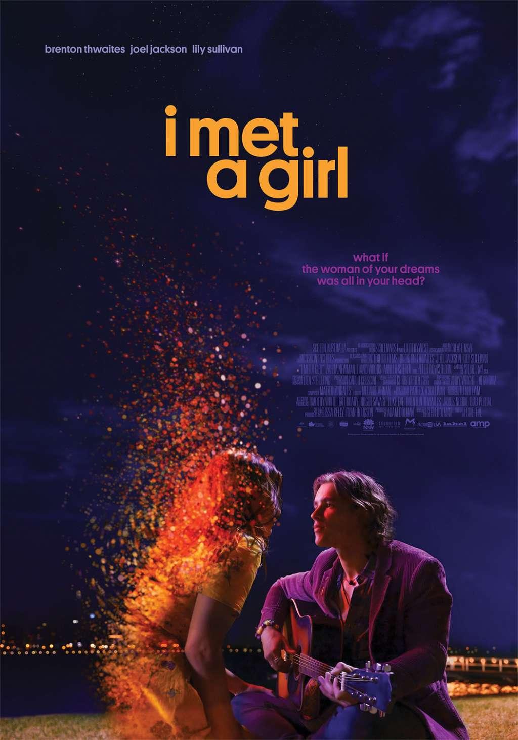 I Met a Girl kapak