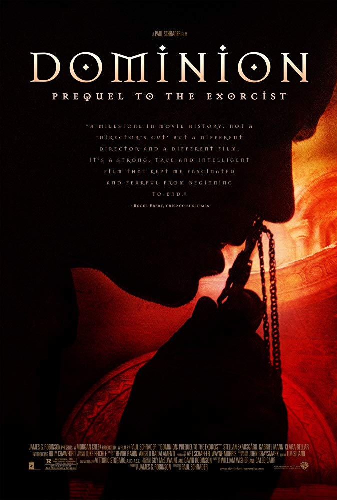 Dominion: Prequel to the Exorcist kapak