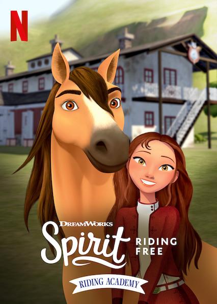 Spirit Riding Free: Riding Academy kapak