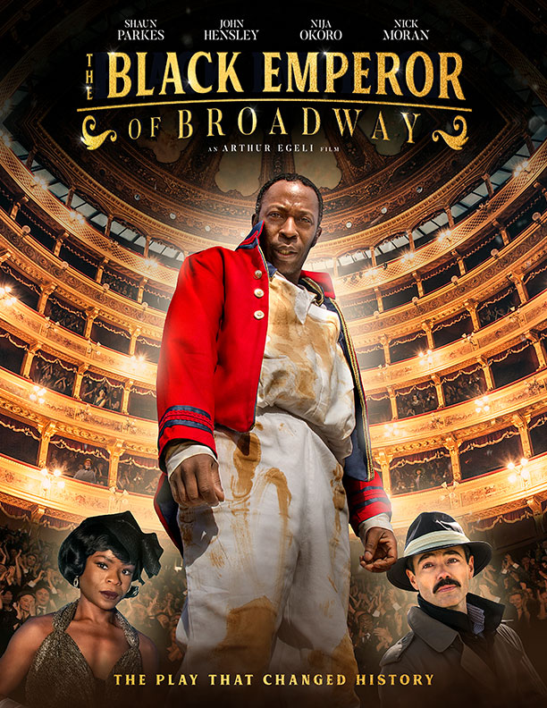 The Black Emperor of Broadway kapak