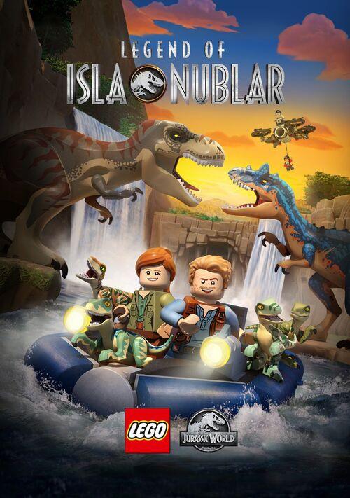 Lego Jurassic World: Legend of Isla Nublar kapak