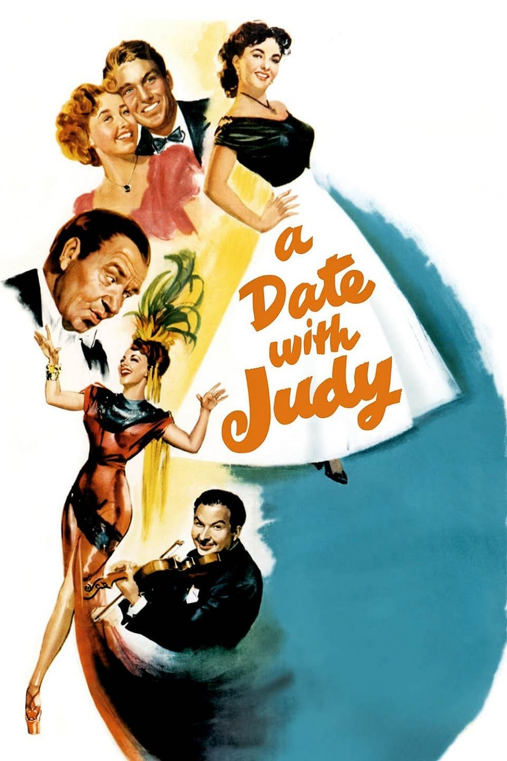 A Date with Judy kapak