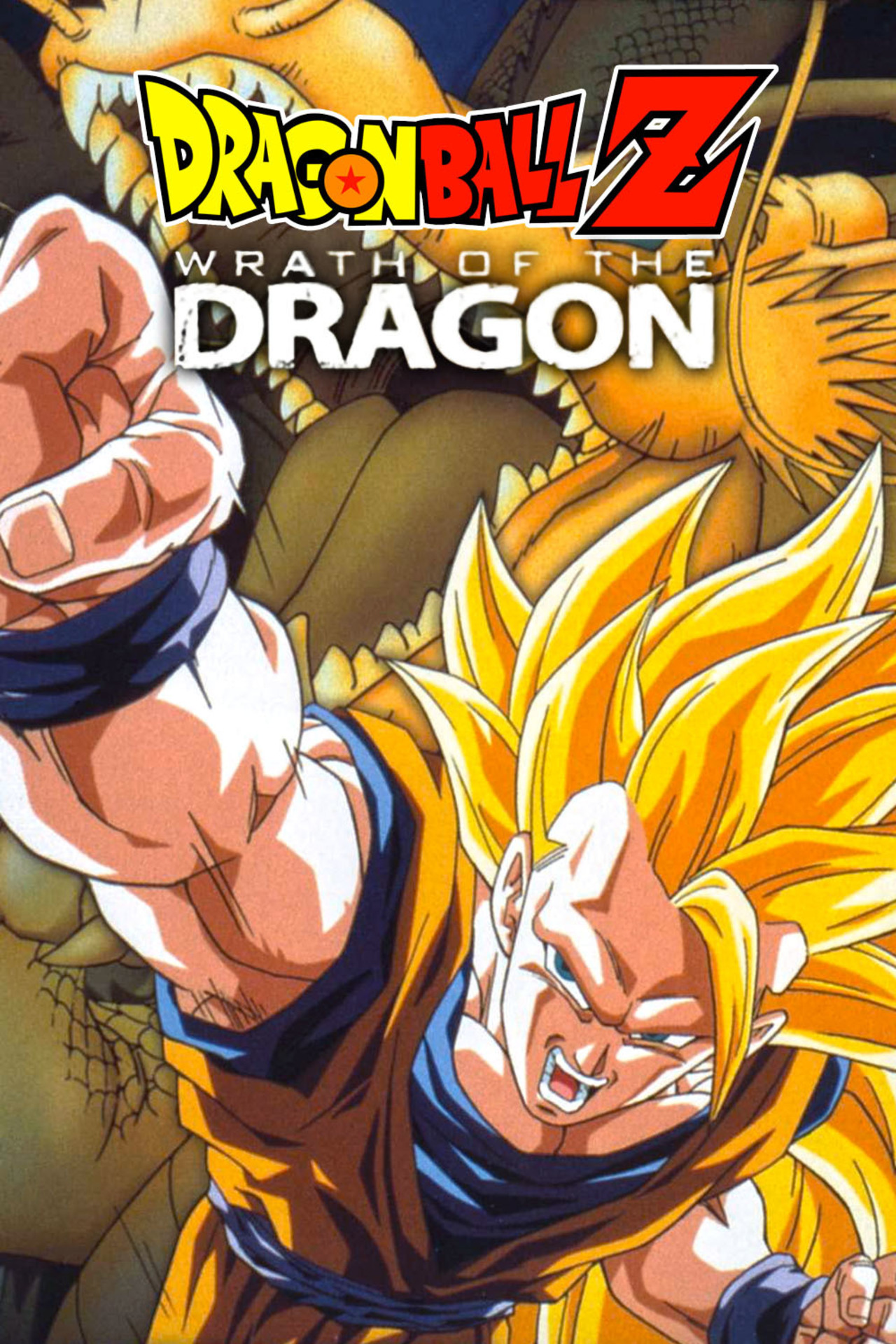 Dragon Ball Z: Wrath of the Dragon kapak