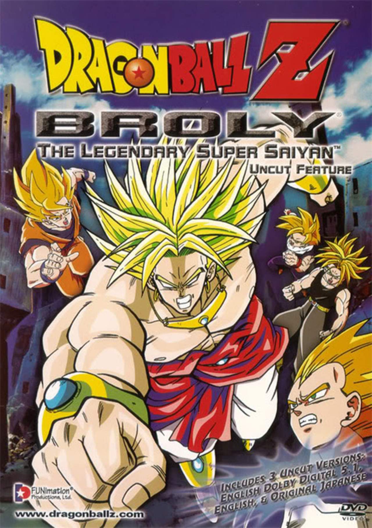 Dragon Ball Z: The Burning Battles kapak