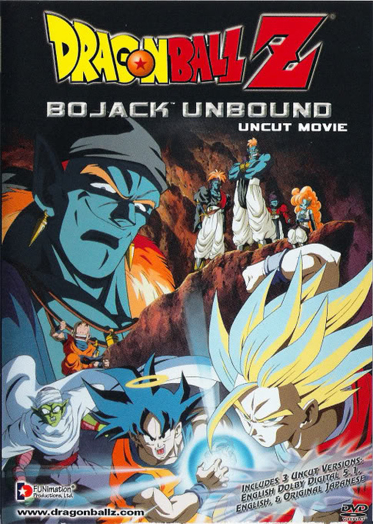 Dragon Ball Z: Bojack Unbound kapak