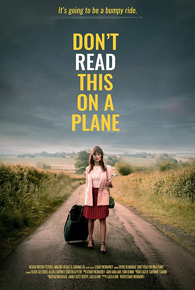 Don't Read This on a Plane kapak