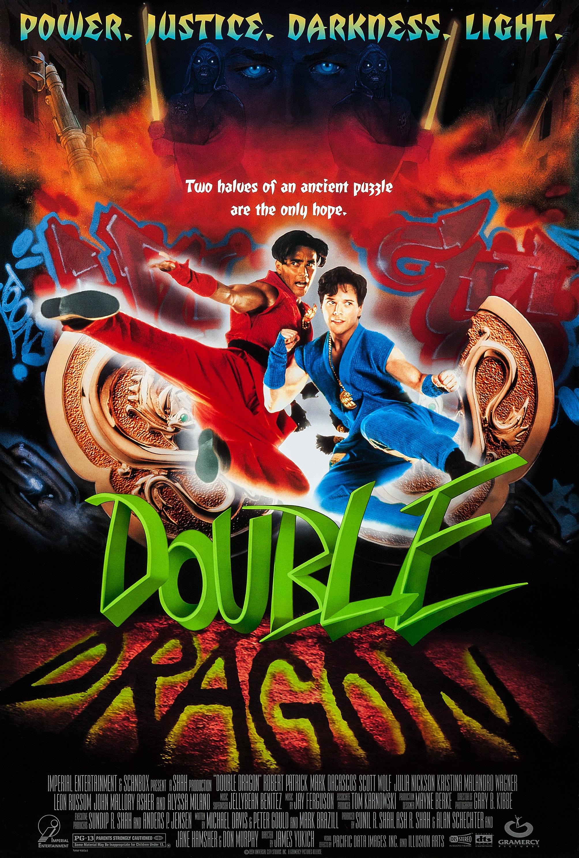 Double Dragon kapak