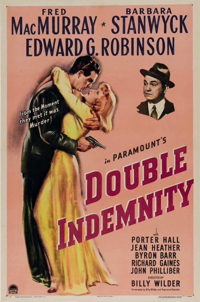 Double Indemnity kapak