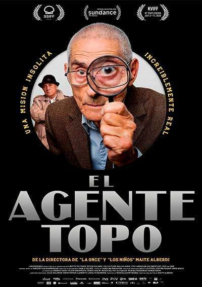 The Mole Agent kapak