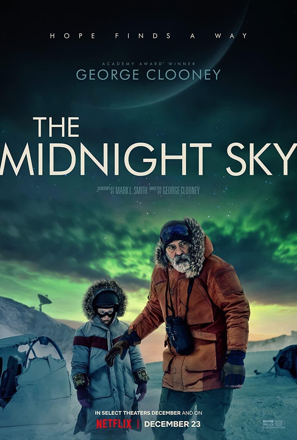 The Midnight Sky kapak