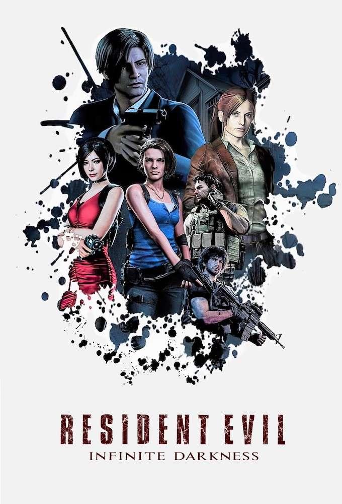 Resident Evil: Infinite Darkness kapak