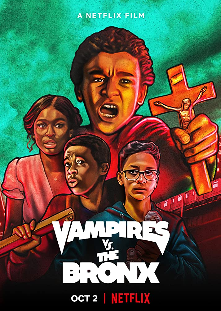 Vampires vs. the Bronx kapak