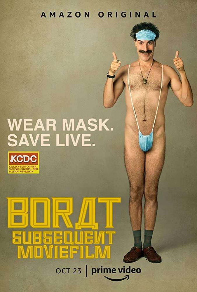 Borat Subsequent Moviefilm kapak