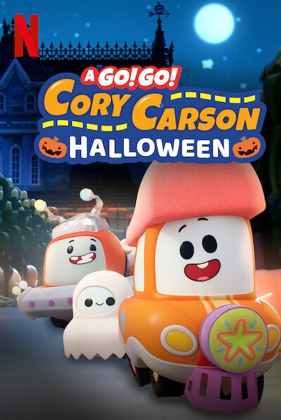 A Go! Go! Cory Carson Halloween kapak