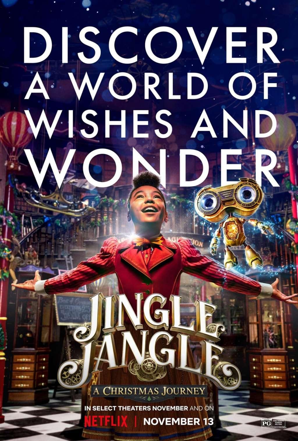 Jingle Jangle: A Christmas Journey kapak