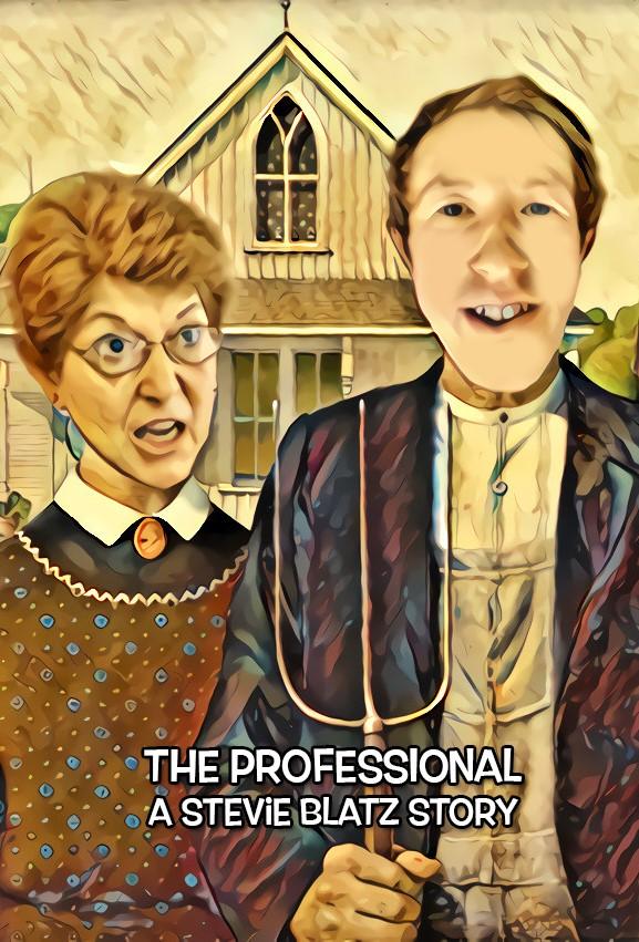 The Professional: A Stevie Blatz Story kapak