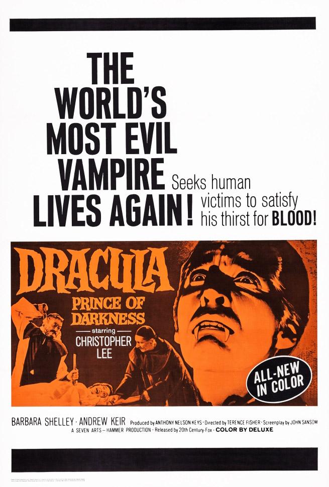 Dracula: Prince of Darkness kapak