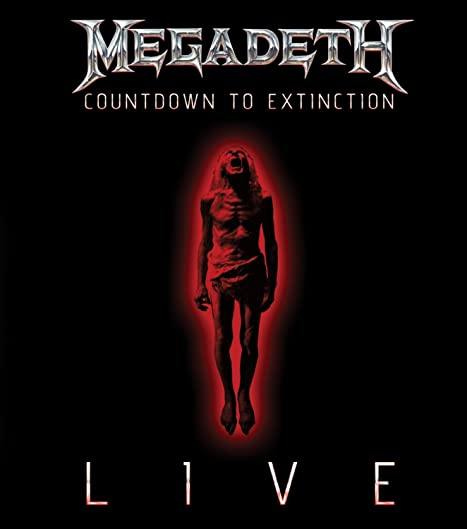 Megadeth: Countdown to Extinction - Live kapak