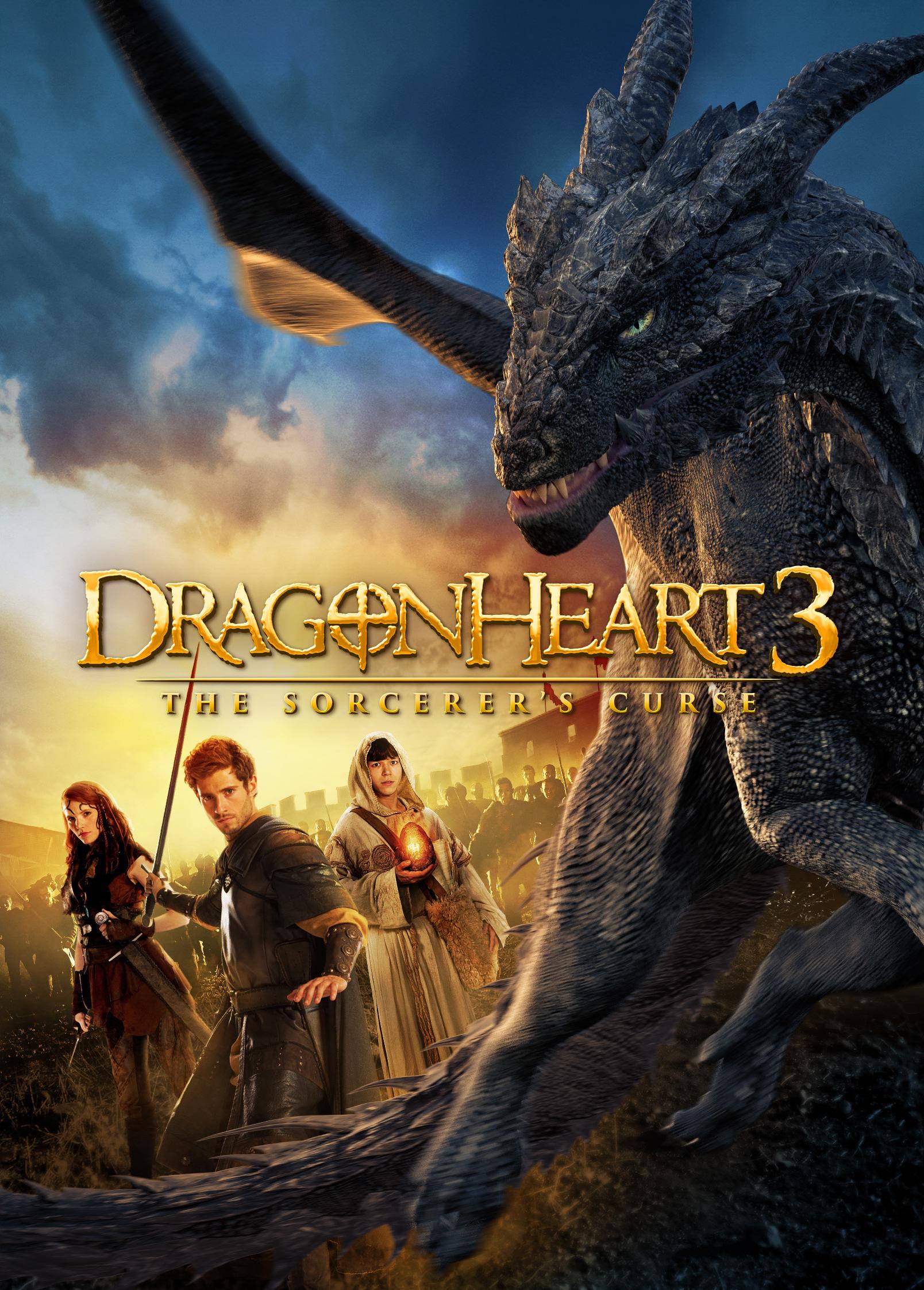 Dragonheart 3: The Sorcerer's Curse kapak