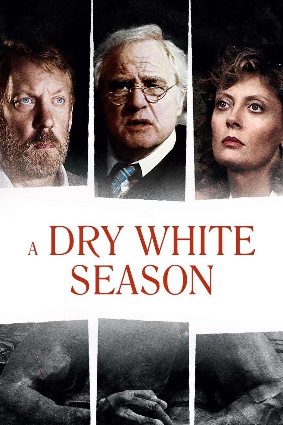 A Dry White Season kapak