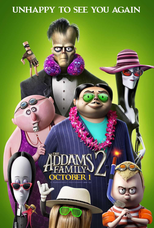 The Addams Family 2 kapak