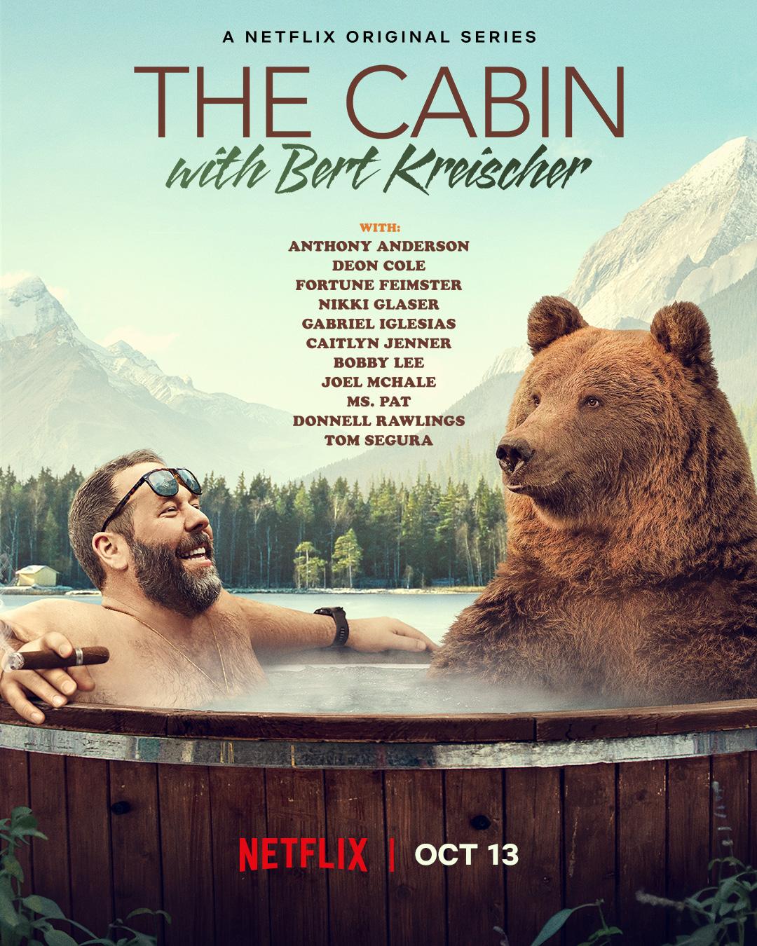 The Cabin with Bert Kreischer kapak