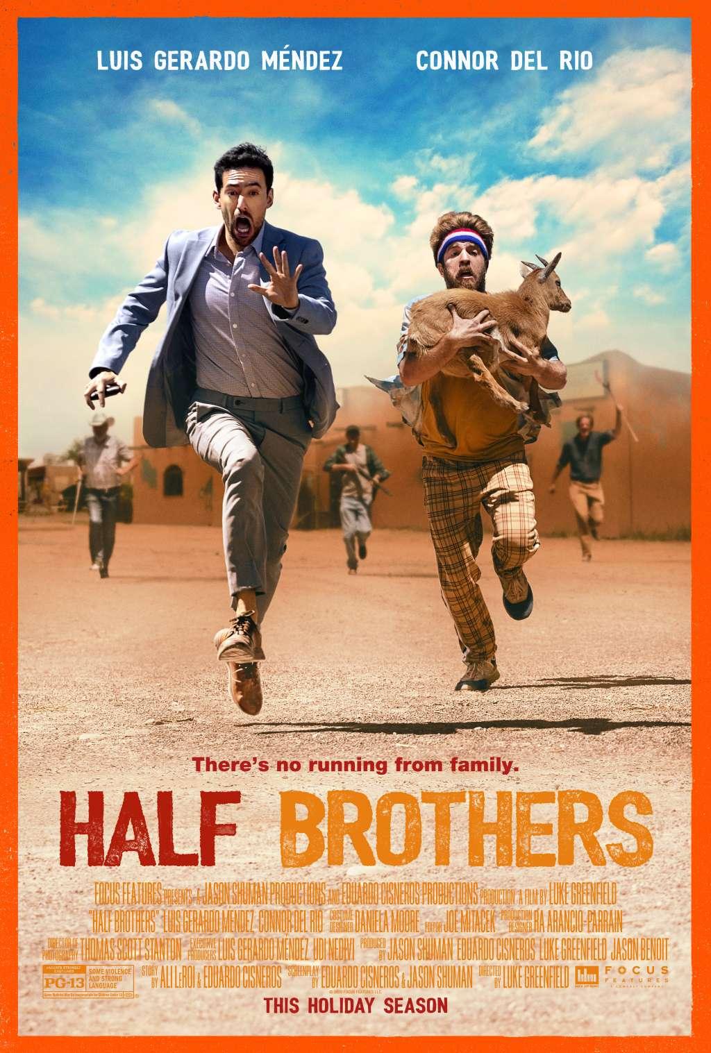 Half Brothers kapak