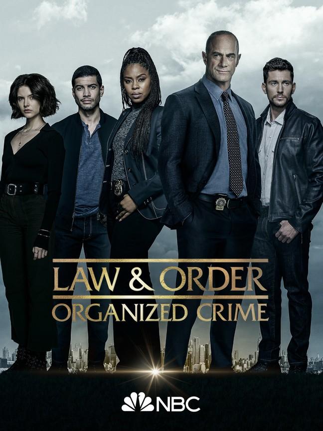 Law & Order: Organized Crime kapak