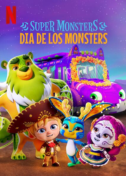 Super Monsters: Dia de los Monsters kapak