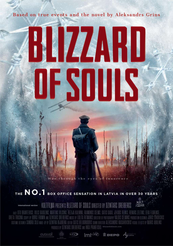 Blizzard of Souls kapak