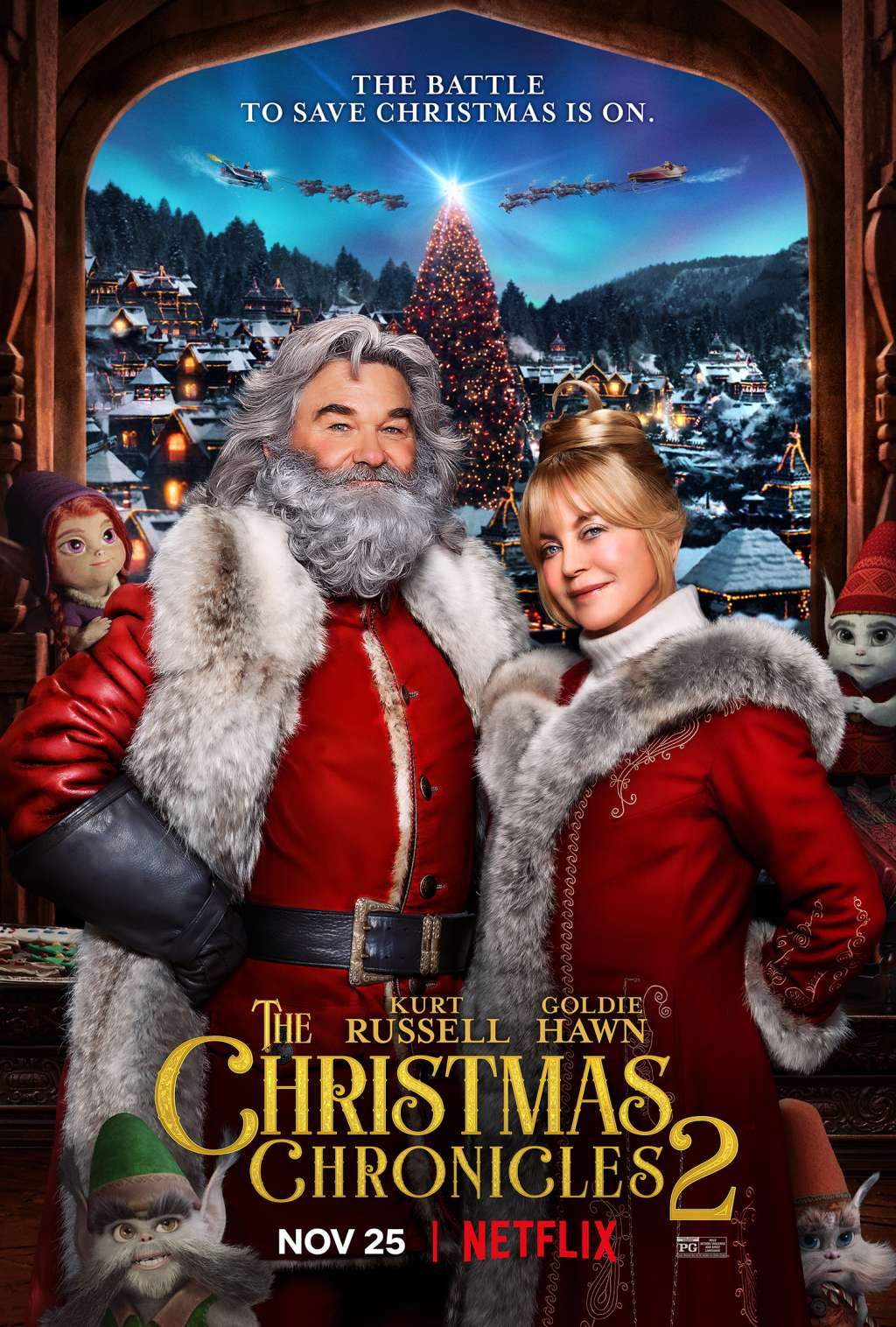 The Christmas Chronicles 2 kapak