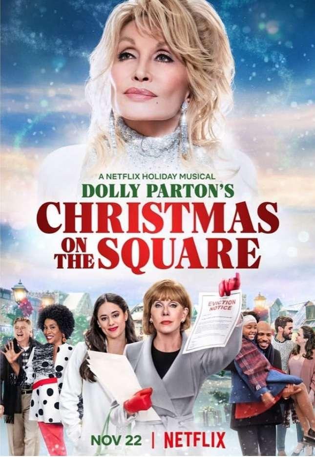 Christmas on the Square kapak