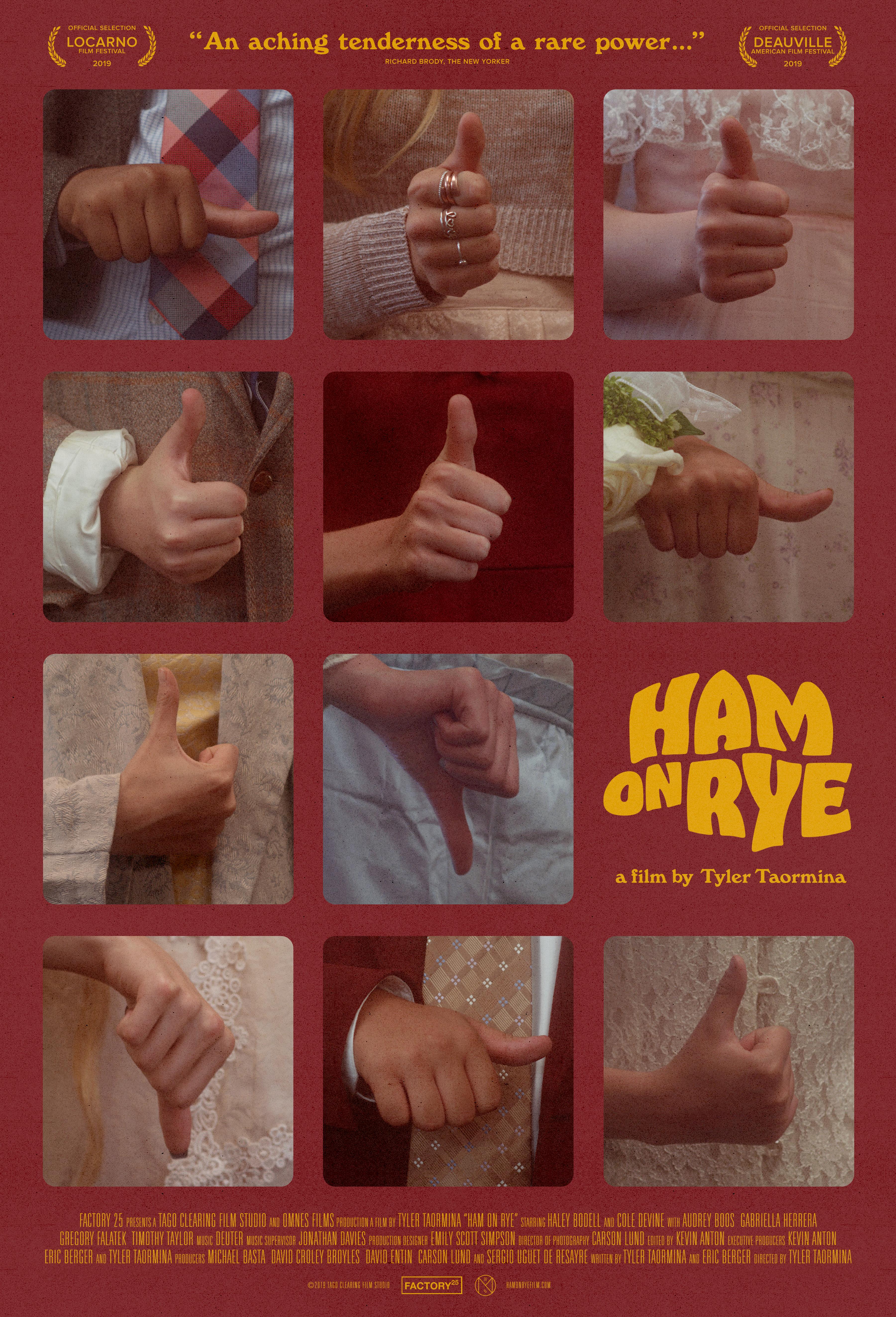 Ham on Rye kapak