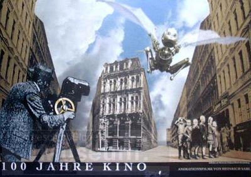 100 Jahre Kino kapak