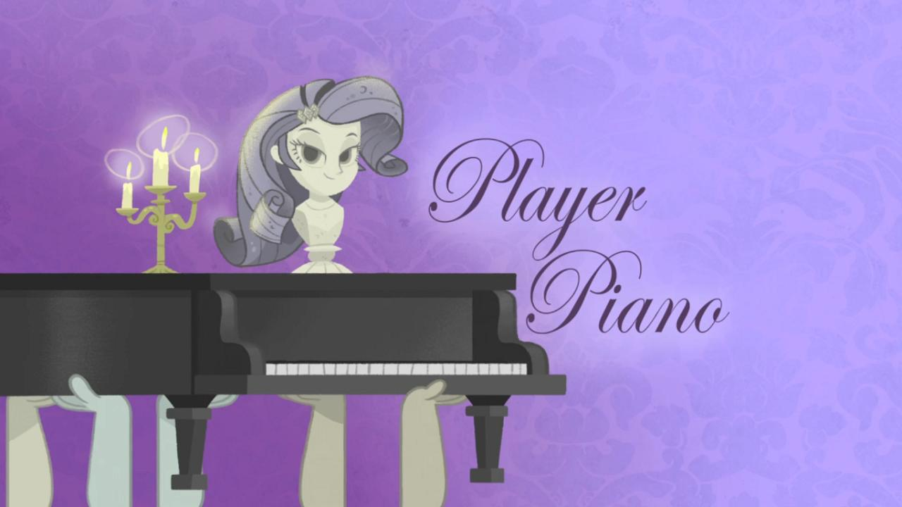 Player Piano kapak