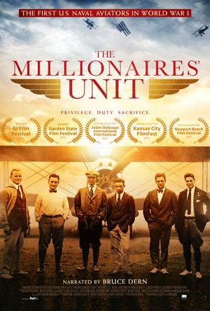The Millionaires' Unit kapak