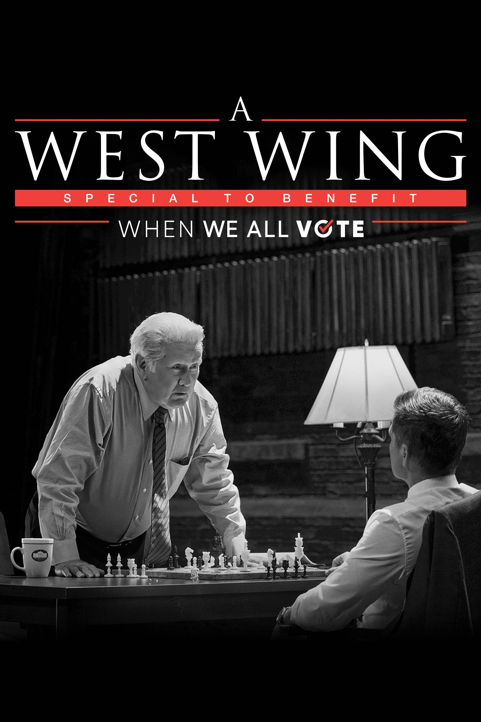 A West Wing Special to Benefit When We All Vote kapak