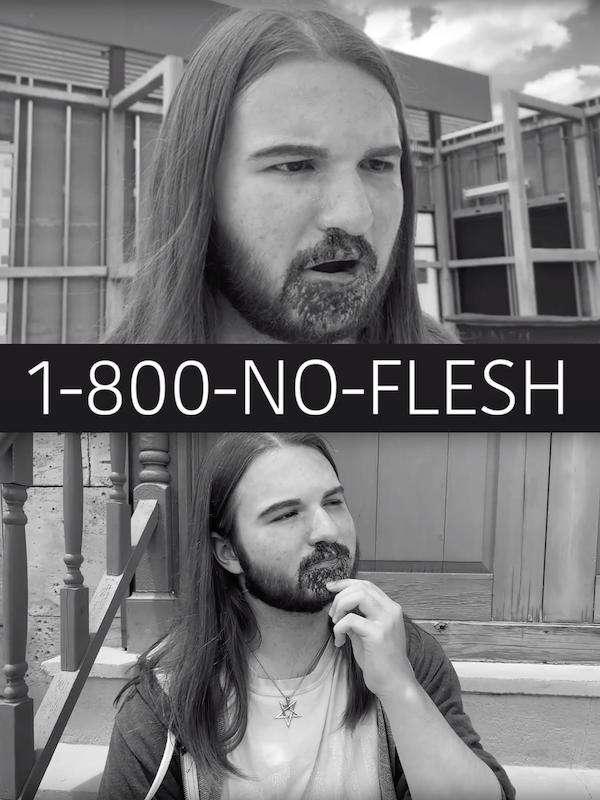 1-800-No-Flesh kapak