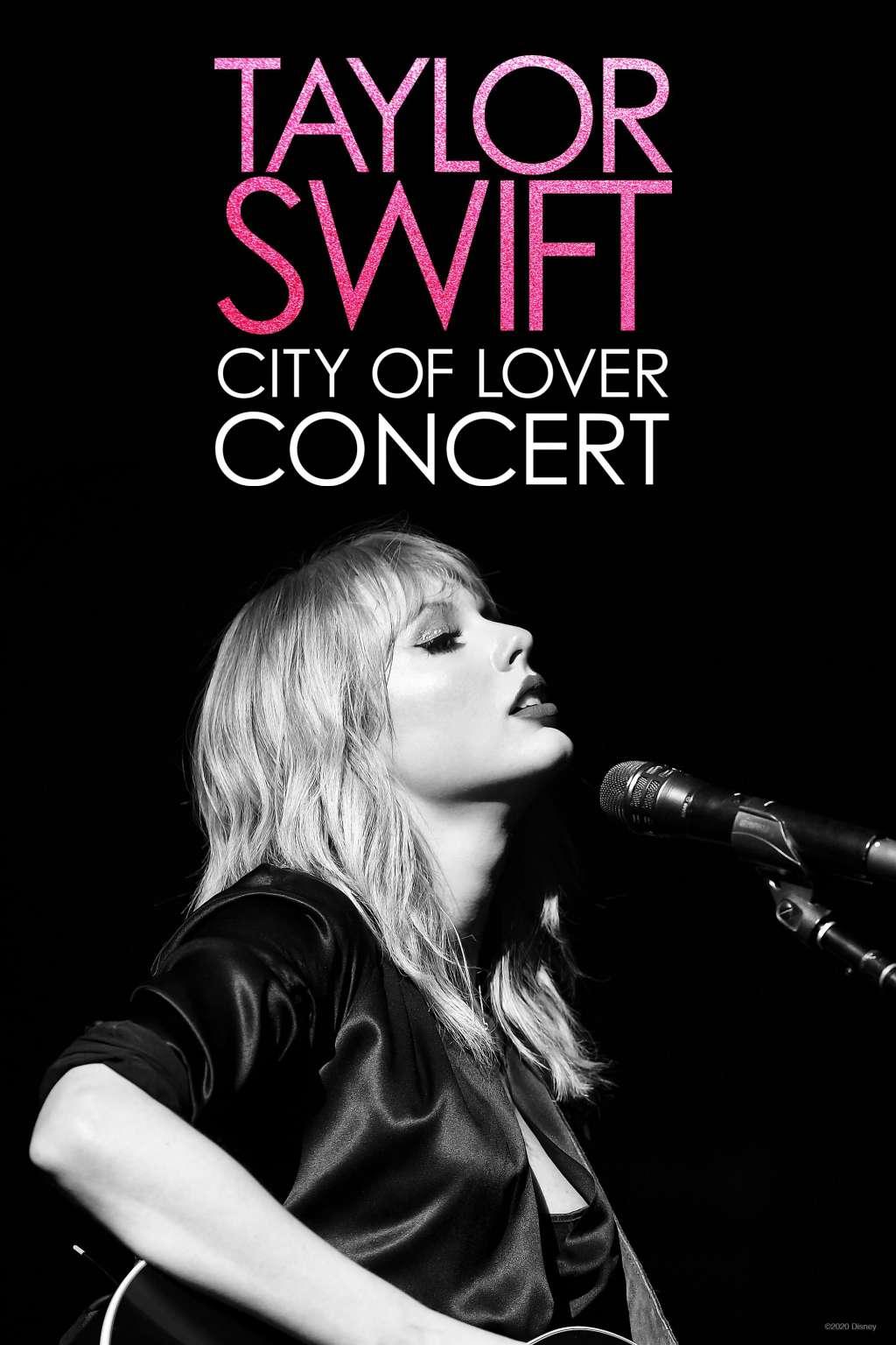 Taylor Swift: City of Lover Concert kapak