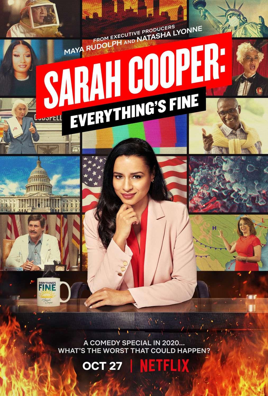 Sarah Cooper: Everything's Fine kapak