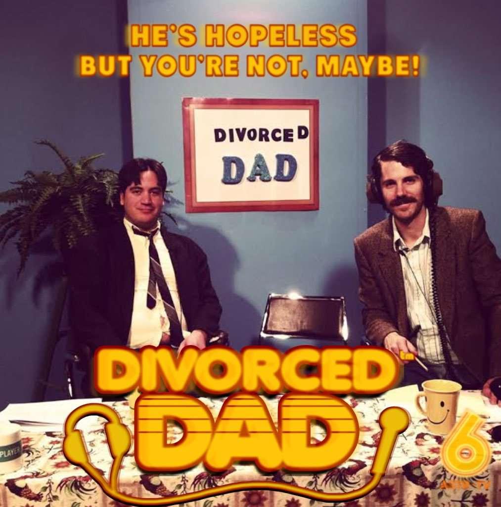 Divorced Dad kapak
