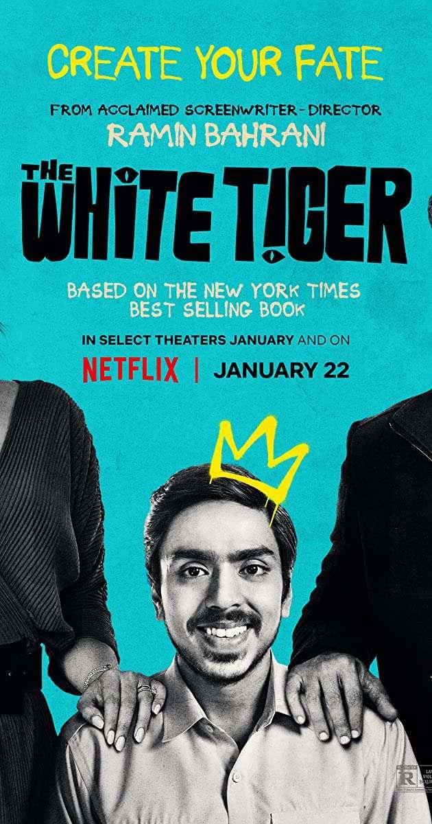 The White Tiger kapak