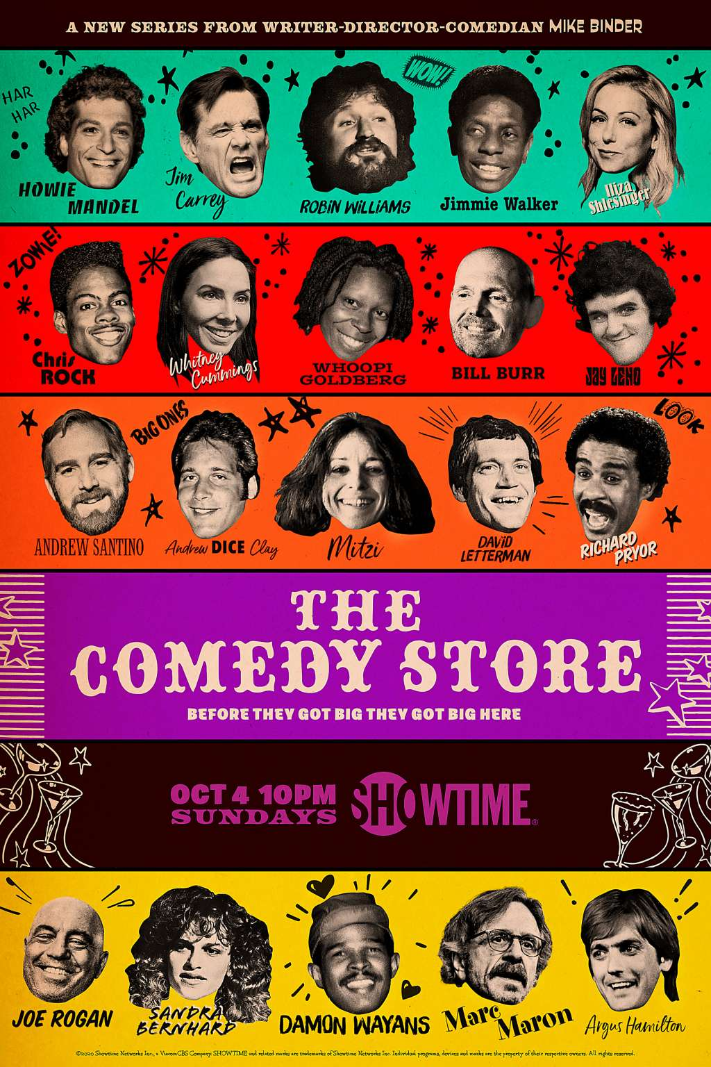 The Comedy Store kapak