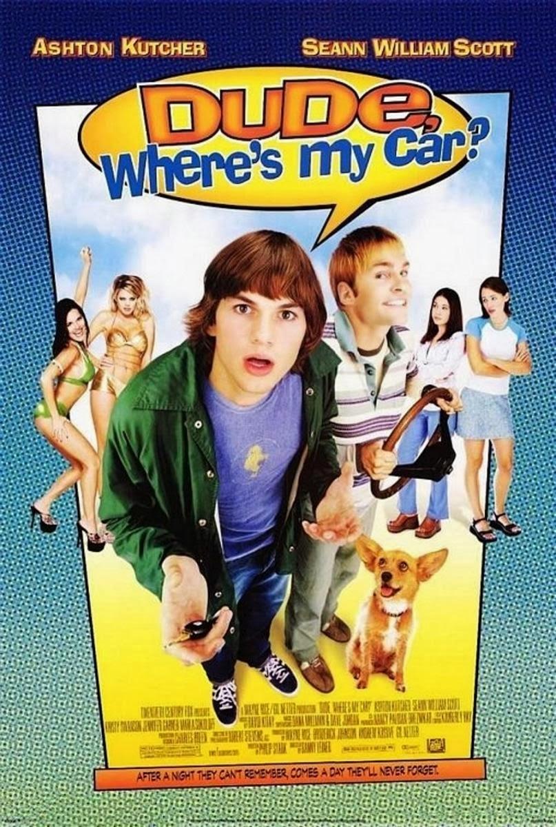 Dude, Where's My Car? kapak
