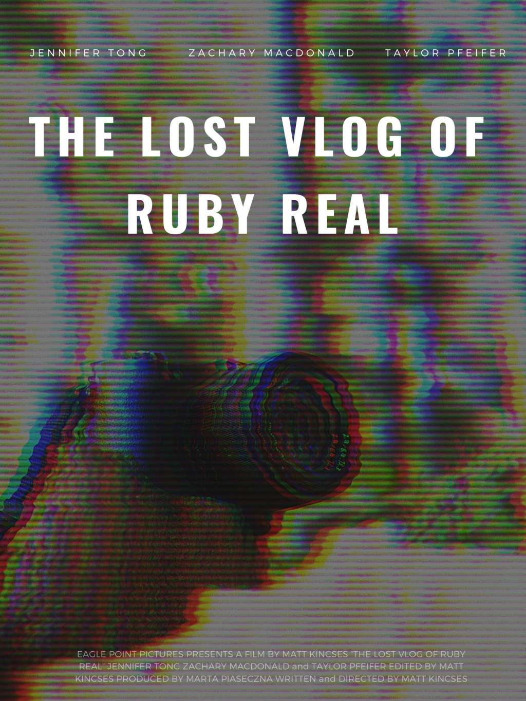 The Lost Vlog of Ruby Real kapak