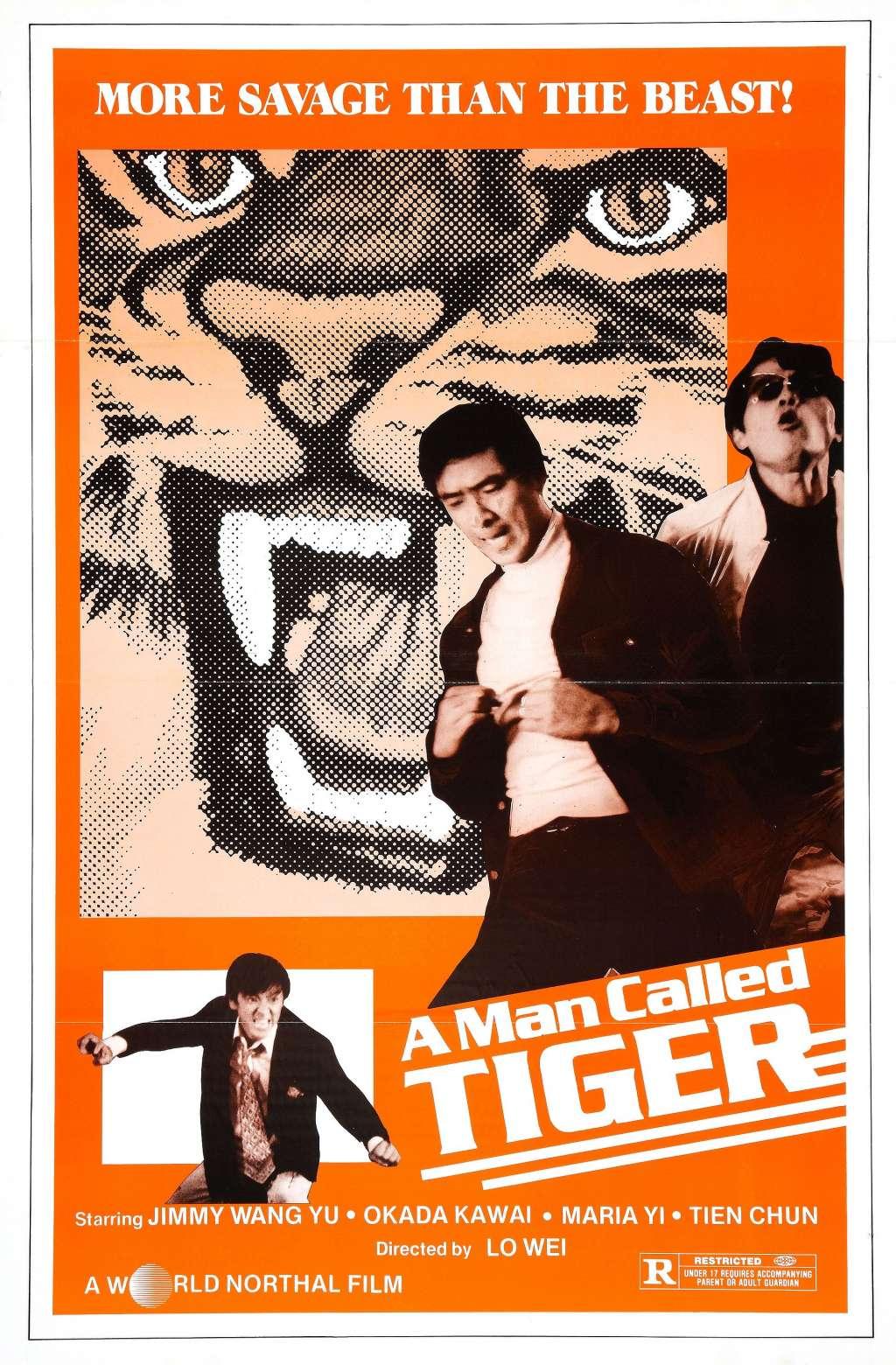 A Man Called Tiger kapak